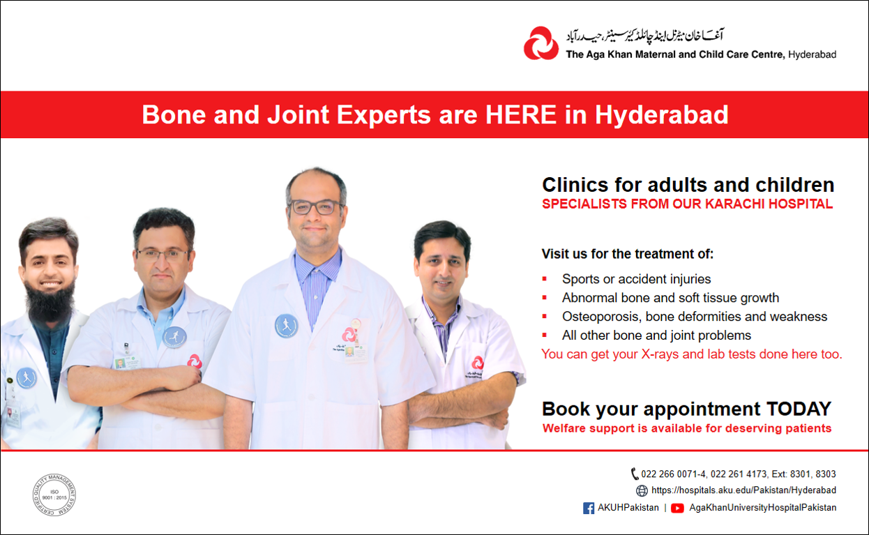 Bone and Joint experts are HERE in Hyderabad