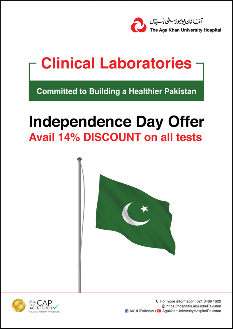 Clinical Laboratories - Independence Day 2018 Offer