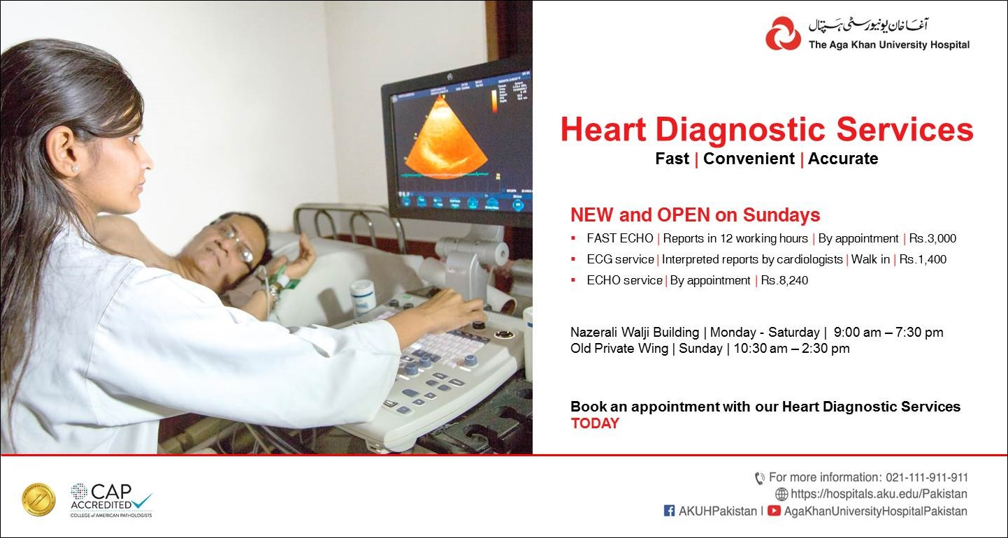 Heart Diagnostic Services Now Available on Sundays